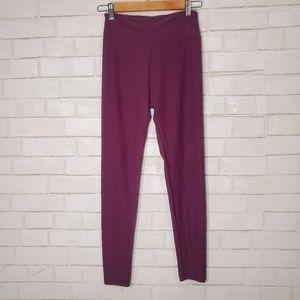 LuLaRoe dark purple leggings